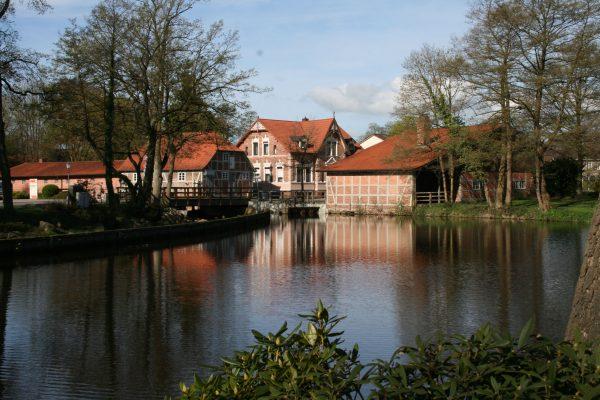 Der Mühlenteich in der Samtgemeinde Sittensen