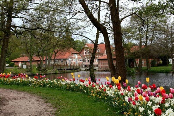 Das Standesamt in der Wassermühle in der Samtgemeinde Sittensen im Landkreis Rotenburg