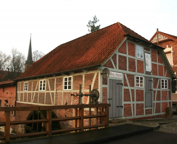 Das Handwerkermuseum in Sittensen im Zentrum bei der Wassermühle