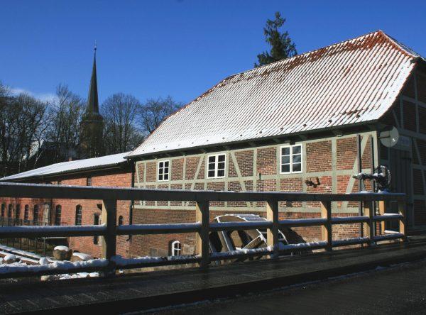 Das Handwerkermuseum in Sittensen bei der Wassermühle