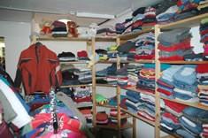 Die Samtgemeinde Sittensen betreibt auch eine Kleiderkammer für sozial Bedürftige